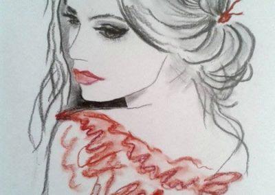 Agárdi Gabi - A nő ( Grafit A5 )