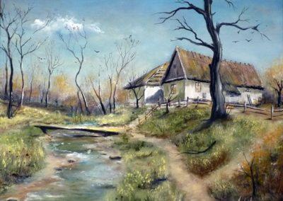 Csend ( Olaj, 40x50 cm) / Silence (Oil, 40x50 cm)