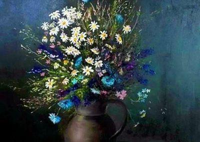 Agárdi Gabi - Mezei virágok (Olajfestmény 60x60 )