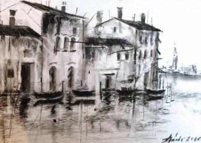 Velence ( Szén, A4 ) / Venice ( Carbon, A4 )